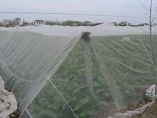 Agfabric 8x10ft Mosquito Netting Bug Insect Bird Net Barrier Hunting