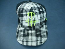 Monster Plaid Front  Fitted  Ball Cap  Energy