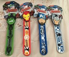 MARVEL HEROES WRISTBAND Avengers Movie Comic Book Hulk Thor Ironman Snap Band
