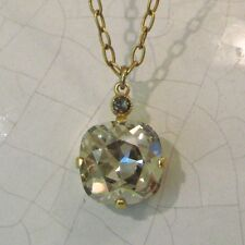 NWT ~ La Vie Parisienne Gold Shade Crystal Pendant Necklace  6556GN - NEW!