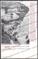 SIRACUSA CITTÀ Cartolina 17. Serie CASA DEI VIAGGIATORI