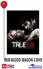 True Blood : Season 2 (DVD, 2009, 5-Disc Set) HBO region 4 sealed tv series