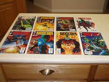 Martian Manhunter issues 1,2,3,4,5,6,7,8