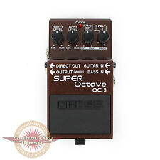 Brand New Boss OC-3 OC3 Super Octave Pitch Shifter Pedal