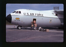 1981 US Air Force 63rd MAW - Lockheed C-141A Starlifter - Original 35mm Slide