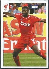PANINI LIVERPOOL STICKER-2014/15- #023-KOLO TOURE IN ACTION
