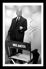 ALFRED HITCHCOCK AUTOGRAPHED SIGNED & FRAMED PP POSTER PHOTO 1