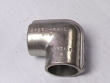 """NEW SPEED RAIL ALUMINUM 90° ELBOW STRUCTURAL FITTING 3-8 1-1/2"""""""