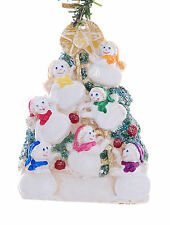 Personalized Christmas Ornament for 7 snowmen resin ornament USA made (F96
