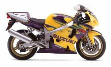 SUZUKI TOUCH UP PAINT KIT GSXR600K3 ALSTARE BRIGHT PURPLE MET & ORPIMENT YELLOW