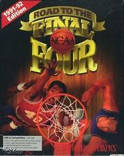 NCAA Road To The Final Four + Manual PC college basketball 64 team game! BIG BOX