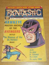 FANTASTIC #74 BRITISH WEEKLY 13TH JULY 1968 HAWKEYE AVENGERS^