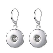 fashion nobile Charm Snap Buttons Earrings Pendant Fit Jewelry Interchangeable
