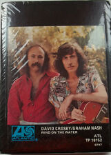 8 TRACK TAPE  David Crosby Graham Nash  Wind On The Water  Factory Sealed  RARE