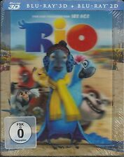 Rio Blu-ray 3D/  Blu-ray SteelBook with lenticular cover