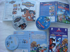 Rare Jetix Digimon/The Super Mario Bros/Gadget And The Gadgetinis  DVD PAL UK