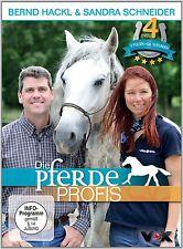 Die Pferdeprofis 4er [DVD] NEU mit Bernd Hackl & Sandra Schneider Reitsport