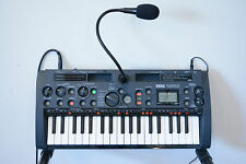 Korg MS1 microSAMPLER Sampling Keyboard w/ box, mic, power supply
