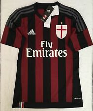 Adidas AC Milan Soccer Jersey Adult Size: S,L