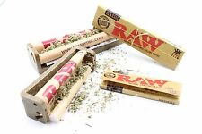 Raw Rolling Bundle Raw 110mm Roller +79mm Roller  2 Packs of Raw Rolling Paper