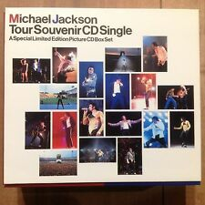 Michael Jackson Tour Souvenir 5CD Single A Special Limited Edition Box Set 1992