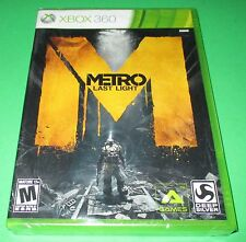 Metro Last Light Xbox 360  Factory Sealed!! Free Shipping!!