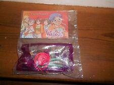 Witch McDonald's Clip On Action Figure Plastic Disney W.I.T.C.H~TARANEE~ SEALED