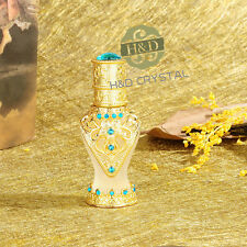 Vintage Gold Empty Refillable Metal Perfume Bottle Stopper Wedding Decor Gifts