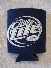 Blue Miller Lite Beer Can Bottle Koozie Caddy Cooler