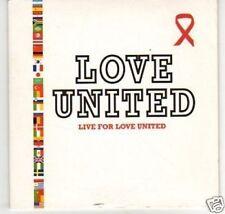(K620) Love United, Live for Love United - DJ CD