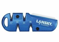 New Lansky QuadSharp Multi-Angle Carbide/Ceramic Pocket Knife Sharpener QSHARP