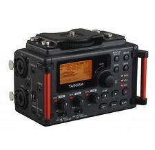 Tascam 4-Channel Linear PCM Audio Portable DSLR Film Recorder/Mixer | DR-60DmkII