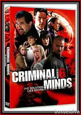 CRIMINAL MINDS - COMPLETE SEASON 6 - SIXTH SEASON *BRAND NEW DVD*
