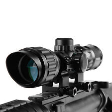 3-9x32MAOL Riflescope CQB Tactical Compact Scope with Illuminated Mil-Dot