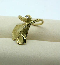 Niessing ring 18kt Gold 0.02ct brillante rw49