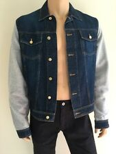 New ( 595 ) Raf by Raf Simons Inside Out Sleeve Denim Men Jacket Size 52