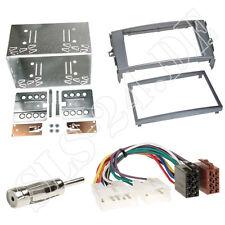 Autoradio 2-DIN Einbaurahmen Radioblende+Adapterkabel Einbauset für Toyota Auris