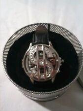 One New Money Spinner  Wrist Watch .  New In Package. (Leather Band )