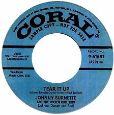 TEAR IT UP Johnny Burnette   *HOT ROCKABILLY*