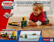 Fisher-Price Thomas and Friends Pump & Fill Oil Works Train Play Set BRAND NEW
