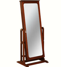Powell Dakota Cheval Jewelry Wardrobe with Full-Length Mirror 508-551 New