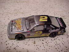 RUSTY WALLACE MILLER BEER 25 YEARS IN RACING SILVER #2 T BIRD 1/64 CAR LQQK
