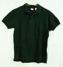 The Gap Black Polo Pique Mesh Shirt size Small