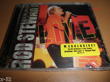 ROD STEWART cd LIVE exc YOU WEAR IT WELL hot legs HANDBAGS & GLADRAGS maggie may