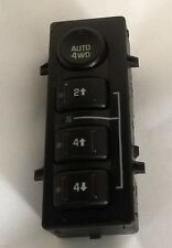 03 04 05 06 07 SILVERADO SUBURBAN TAHOE YUKON GMC 4WD TRANSFER CASE SWITCH