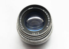 jupiter 8 50/2 m39 leica mount for fed zorki bessa ussr based on zeiss sonnar