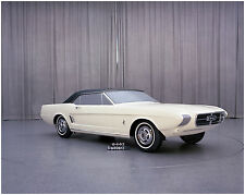 June 1963 Ford Mustang Concept car   8  x 10  Photograph