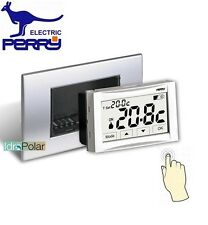 NUOVO TERMOSTATO DIGITALE DA INCASSO PERRY MOON SOFT TOUCH 3V 1TITE542
