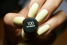 Revlon Colorstay Nail Polish Lacquer in BUTTERCUP #100 ~ Pastel Yellow