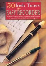30 Irish Tunes For Easy Recorder Learn to Play Beginner Celtic Sheet Music Book